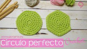 Cómo hacer un círculo perfecto de crochet