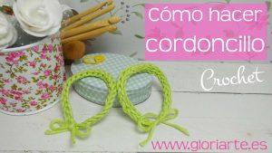 Curso crochet: cómo hacer cordoncillo, 2 ideas diferentes