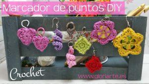 Curso crochet: cómo hacer marcadores de punto DIY (4 ideas)