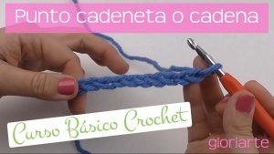 Curso crochet: punto cadeneta y cómo contar puntos