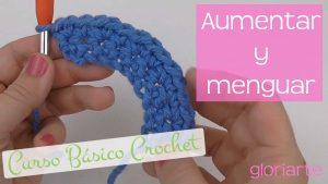 Curso crochet: aumentos y disminuciones