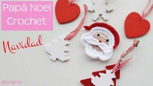 Adorno Papá Noel para decorar en Navidad