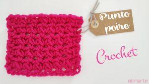 Punto fantasía #001 Punto Poire Crochet