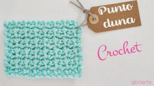 Punto fantasía #002 Punto Duna Crochet