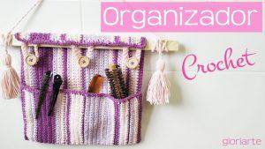 Organizador percha para el baño